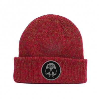 rancid - Embroidered Skull Red | Beanie
