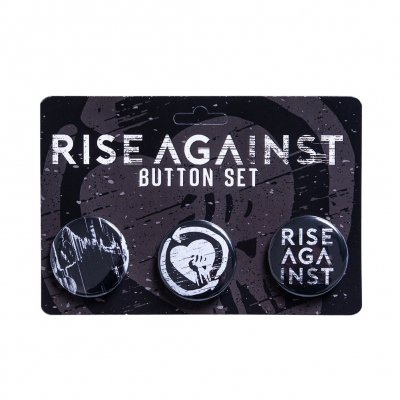 Rise Against - Wolves | Button Set