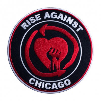 rise-against - Big Heartfist | Back Patch
