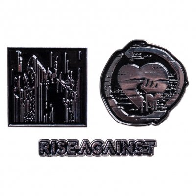 rise-against - Wolf Tour 2017 | Enamel Pinset