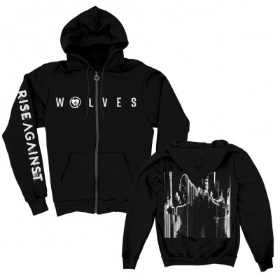 rise-against - Static Wolf | Zip Hood