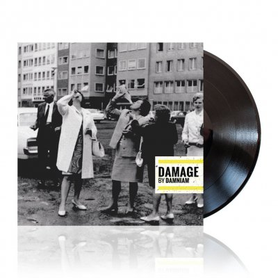 mad-drunken-monkey-records - Damage | Black Vinyl