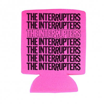 The Interrupters - Repeater Hot Pink | Coozie