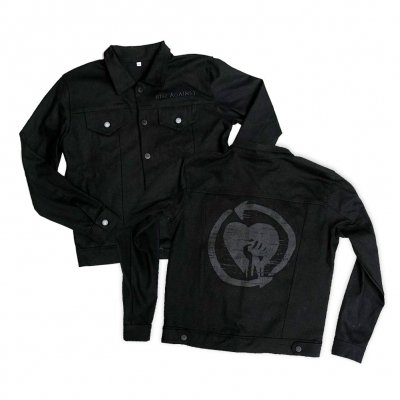 rise-against - HeartFist | Denim Jacket