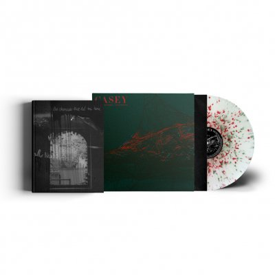 casey - Where I Go When I Am Sleeping | Splatter Vinyl+Photobook
