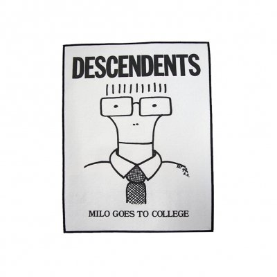 Descendents - Milo Goes To College | Back Patch