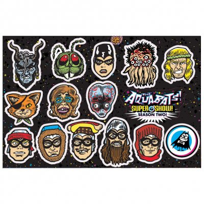 The Aquabats - Season 2 Character | Sticker Sheet