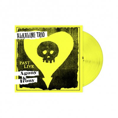 alkaline-trio - Agony & Irony: Past Live | Yellow Vinyl