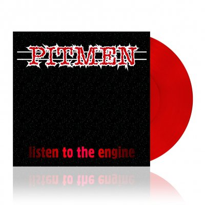 Pitmen - Listen To The Engine | Red Vinyl