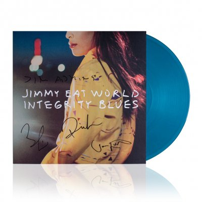 Jimmy Eat World - Integrity Blues | Signed Turquoise Vinyl
