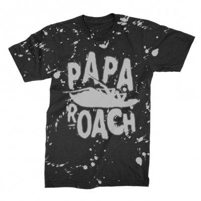 papa-roach - Classic Logo Tip Dye | T-Shirt