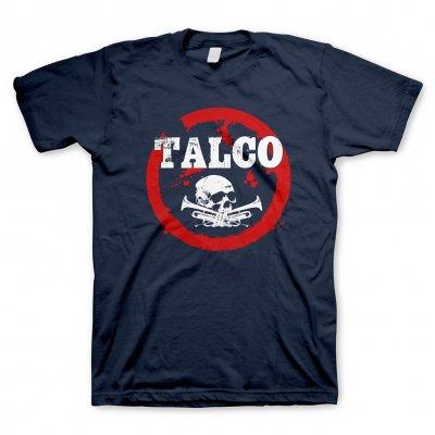 talco - Skull Logo Navy | T-Shirt