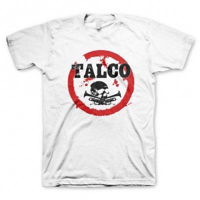 talco - Skull Logo White | T-Shirt