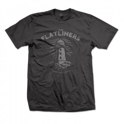 the-flatliners - Lighthouse Charcoal | T-Shirt