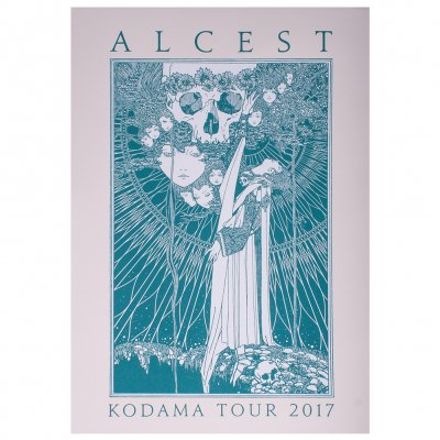 alcest - Kodama | Screen Print Poster