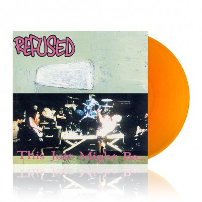 refused - This Just Might Be The Truth | Clear Orange Vinyl