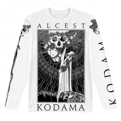 alcest - Faces/Skulls White | Longsleeve