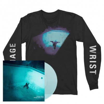 Teenage Wrist - Chrome Neon Jesus | Trans. Blue Vinyl+Longsleeve
