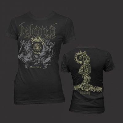 behemoth - Messe Noir   Girl Fitted T-Shirt