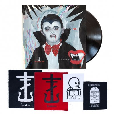 Frank Iero - Keep The Coffins Coming | 10 Inch + Patches Bundle
