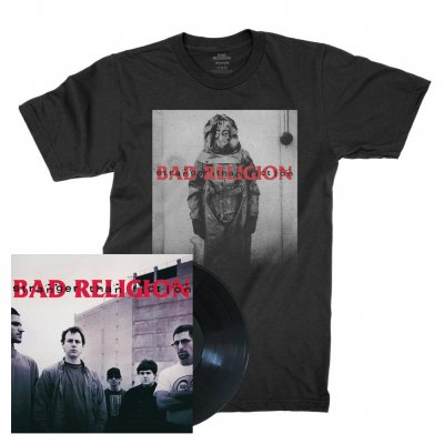 bad-religion - Stranger Than Fiction Remastered | Black Vinyl+T Bundle