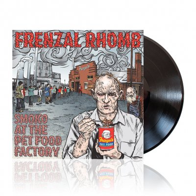 frenzal-rhomb - Smoko at the Pet Food Factory | Black Vinyl