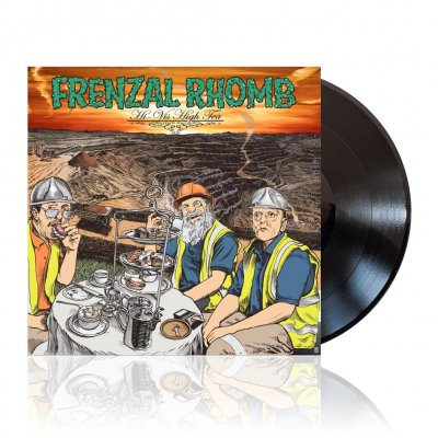 Frenzal Rhomb - Hi-Vis High Tea | Black Vinyl