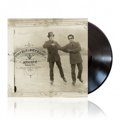 Joey Cape/Tony Sly - Acoustic Volume 2 | Black Vinyl