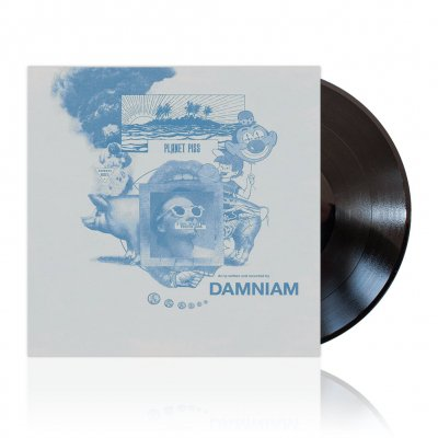 Damniam - Planet Piss | Black Vinyl