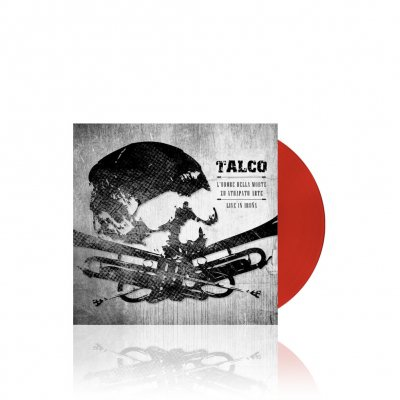 talco - L`Odore Della Morte | Clear Red 7 Inch