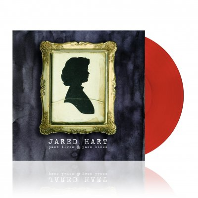 jared-hart - Past Lives & Past Lines | Clear Red Vinyl