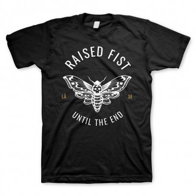 raised-fist - Moth Until The End | T-Shirt