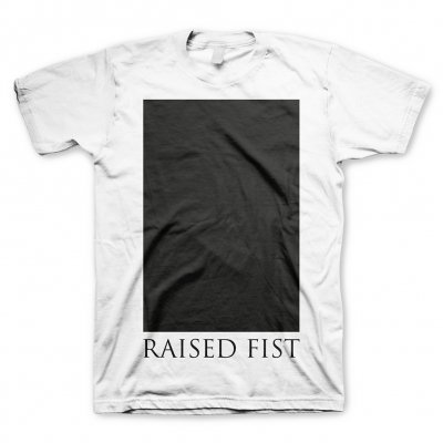 raised-fist - Black Square | T-Shirt