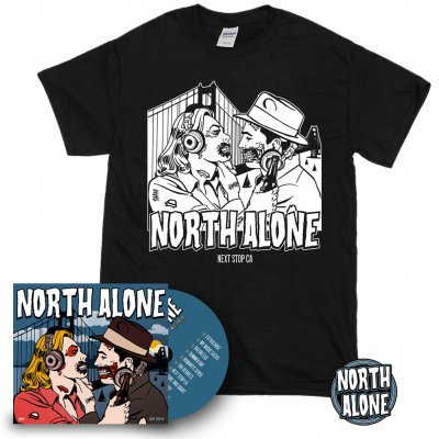 North Alone - Next Stop CA | CD Bundle