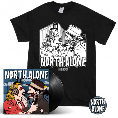 North Alone - Next Stop CA | Black Vinyl Bundle Bundle
