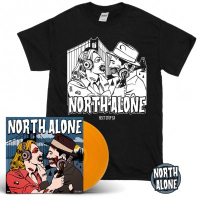 North Alone - Next Stop CA | Orange Vinyl Bundle