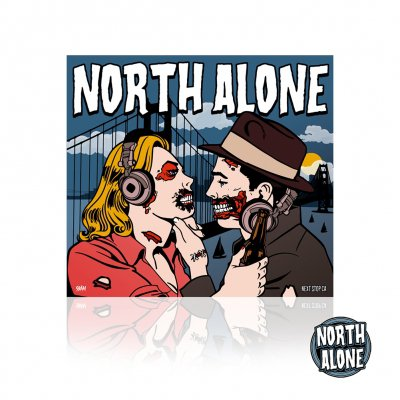 North Alone - Next Stop CA | CD+Enamel Pin