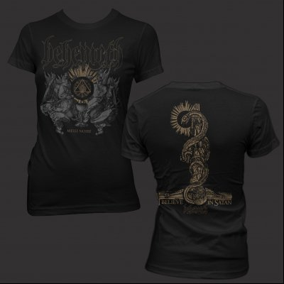 behemoth - Messe Noir | Girl Fitted T-Shirt