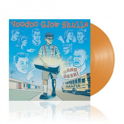 The Band Geek Mafia | Trans. Orange Vinyl