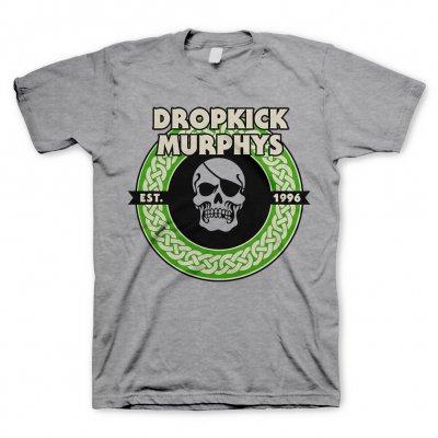 dropkick-murphys - Vintage Circle Skull |T-Shirt