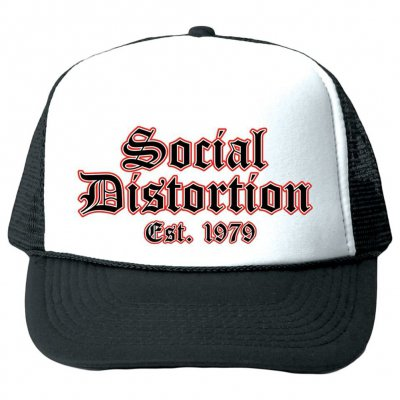 social-distortion - Old English | Trucker Hat