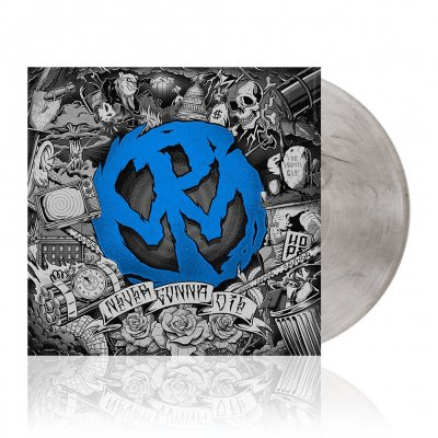 shop - Never Gonna Die | Clear w/Black Smoke Vinyl