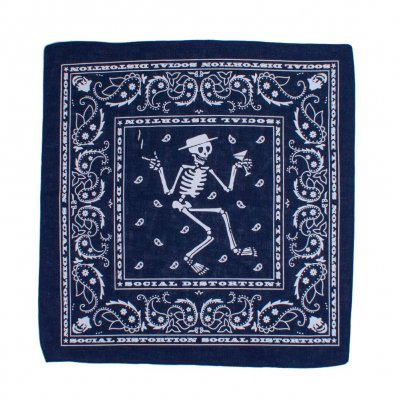 social-distortion - Skelly Navy | Bandana
