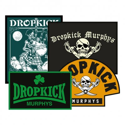 dropkick-murphys - 4 Patches | Patch Set