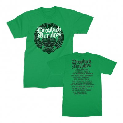 Dropkick Murphys - Claddagh Hands Tour 2018 | T-Shirt