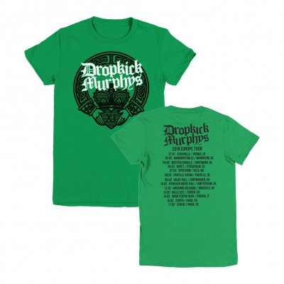 Dropkick Murphys - Claddagh Hands 2018 | Fitted Girl T-Shirt
