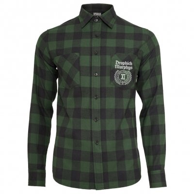 dropkick-murphys - XI Logo | Flannel Shirt