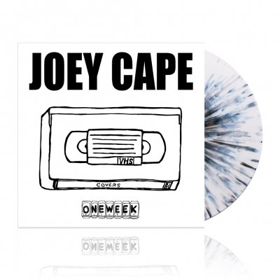 Joey Cape - One Week Record - Covers | White w/Black Splatter