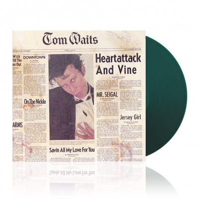 tom-waits - Heartattack And Vine Remastered | 180g Moss Green