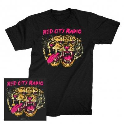 Red City Radio - Sky Tiger | CD + T-Shirt Bundle